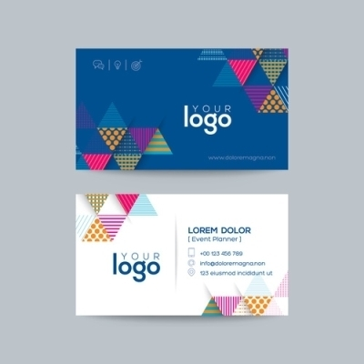 24pt Gloss Laminated Business Cards 2 Side