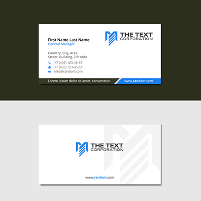 24Hr Slim Business Cards 2 Side