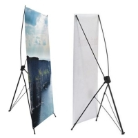 1 Hour X-Banner Stand 23.5