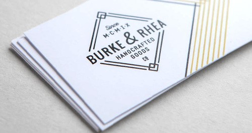 17pt White Uncoated Business Cards