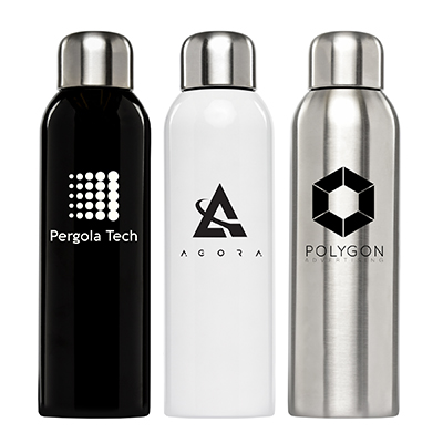 26 oz. Stainless Water Bottle - One Colour Print