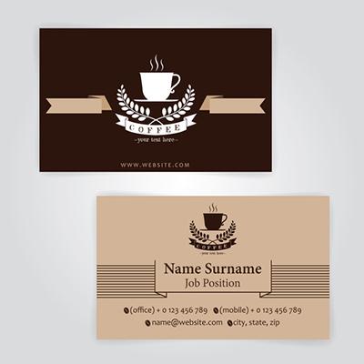12pt Business Cards 1 Side