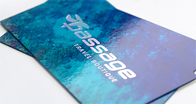 32PT SUPER GLOSS LAMINATED BUSINESS CARDS