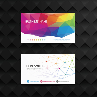 24pt Gloss Laminated Business Cards 1 Side