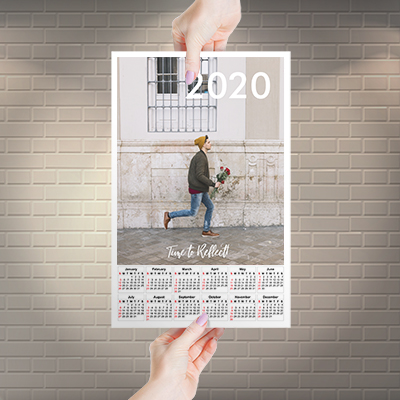Posters Style Calendar