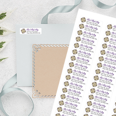 24 Hr Return Address Labels