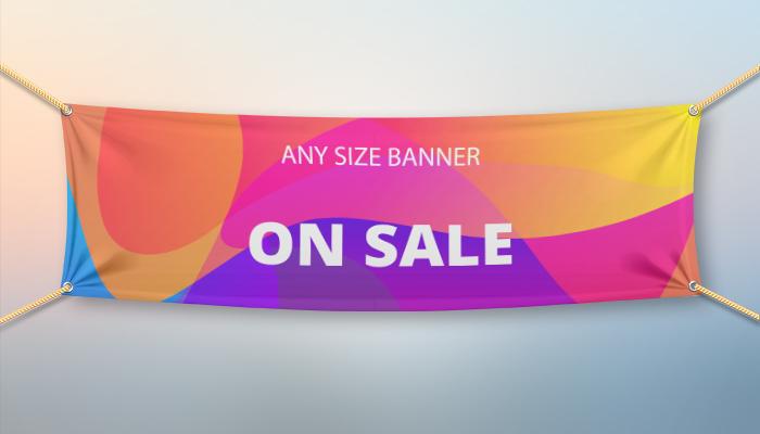 Custom Size Vinyl Banner